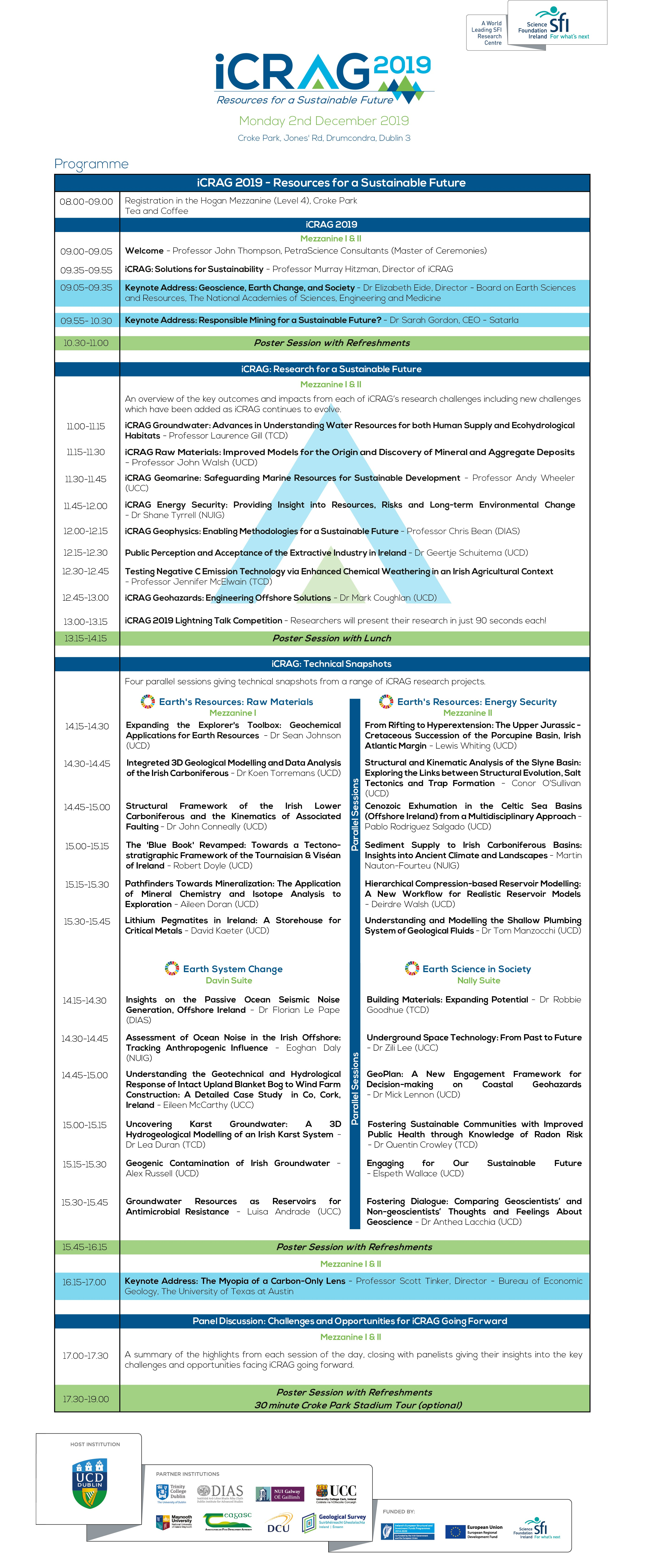Conference programme image